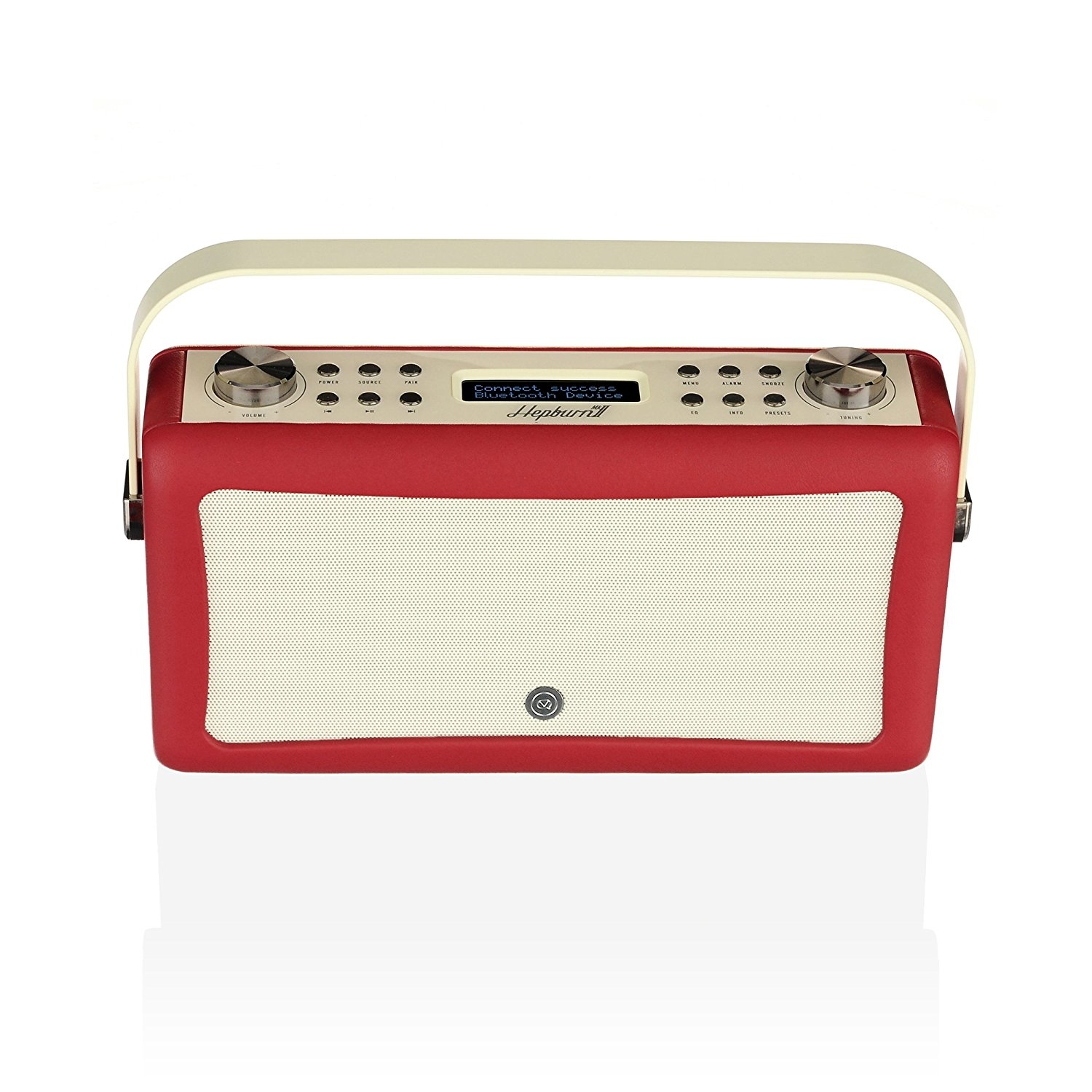 VQ HEPMKII Home Audio Bluetooth Radyo-Red