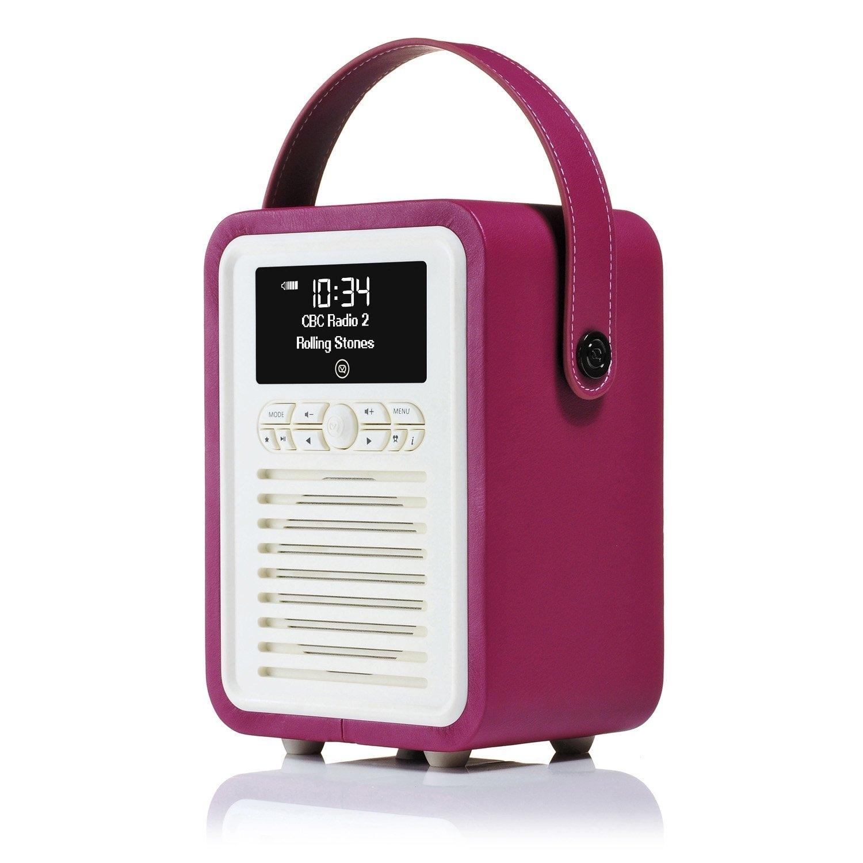 VQ MINI Home Audio Bluetooth Radyo-Deep Purple