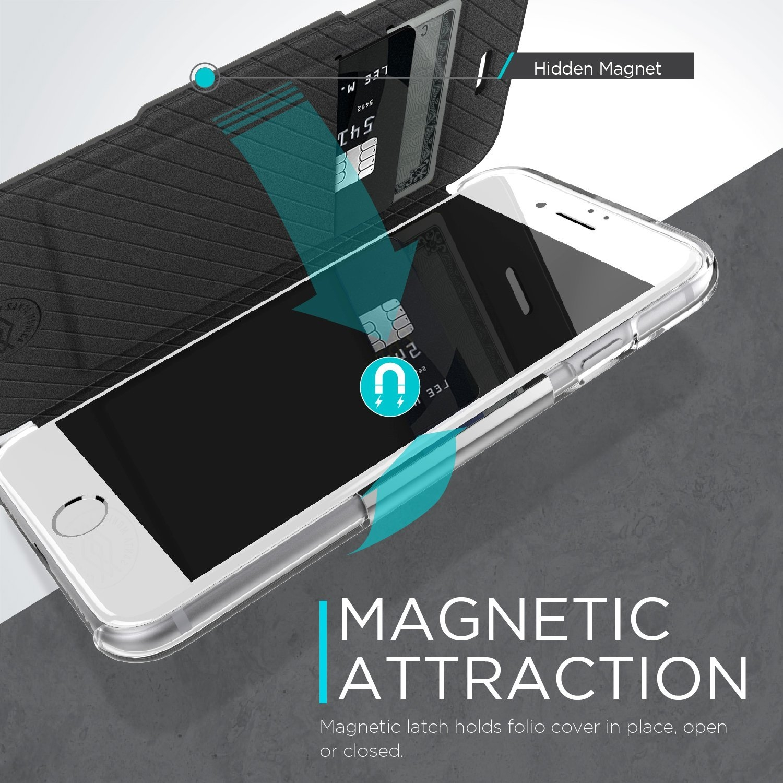 X-Doria iPhone 7 Plus Engage Folio Seri Cüzdan Kılıf