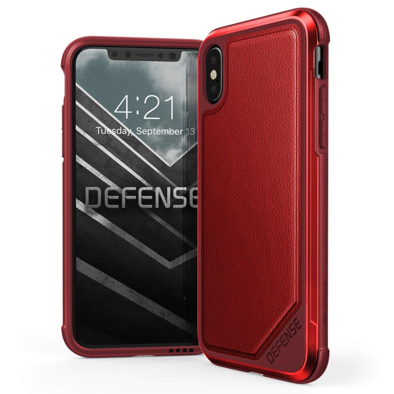 X-Doria iPhone X Defense Lux Seri Kılıf (MIL-STD-810G)