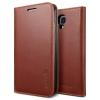 Spigen SGP Galaxy S4 Leather Wallet Case Snap