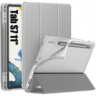 Infiland Galaxy Tab S7 Kalem Bölmeli Kılıf (11 inç)