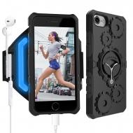 LOVPHONE Apple iPhone 7/8 Kol Bandı ve Kılıf (S)