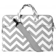 Mosiso MacBook 15 inç Chevron Style Fabric Sleeve Çanta