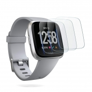 OMOTON Fitbit Versa Temperli Cam Ekran Koruyucu (3 Adet)