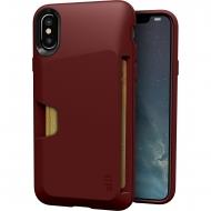 Silk Apple iPhone XS / X Kartlıklı Kılıf
