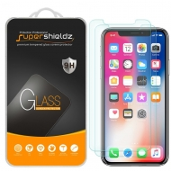 Supershieldz Apple iPhone X Temperli Cam Ekran Koruyucu (2 Adet)