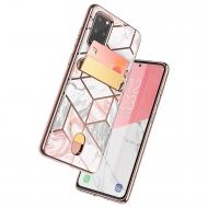 i-Blason Samsung Galaxy S20 Plus Cosmo Serisi Cüzdan Kılıf