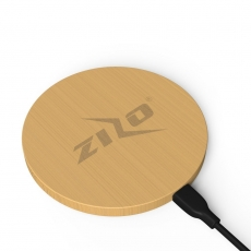 Zizo Bambu Kablosuz Şarj Cihazı