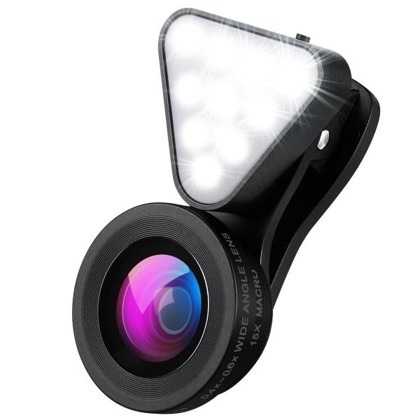 AMIR 2'si 1 Arada Telefon Kamera Lensi
