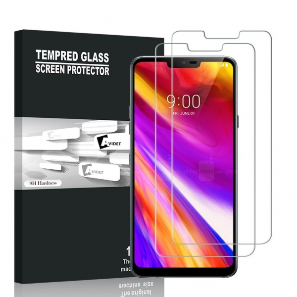 AVIDET LG G7 ThinQ Temperli Cam Ekran Koruyucu (2 Adet)