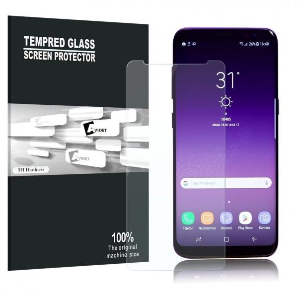AVIDET Samsung Galaxy A8 Plus Cam Ekran Koruyucu (2 Adet)