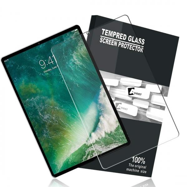 AVIDET iPad Pro Temperli Cam Ekran Koruyucu (12.9inç)(2018)