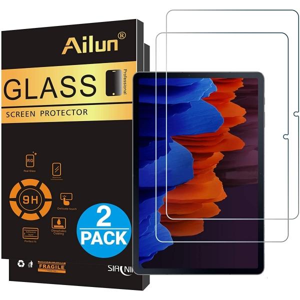 Ailun Galaxy Tab S7 Plus Temperli Cam Ekran Koruyucu (2 Adet)
