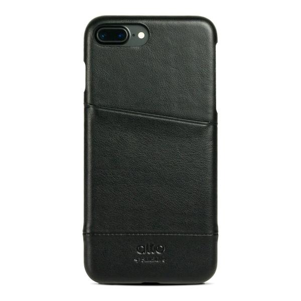 Alto iPhone 8 Plus Kartlıklı Deri Kılıf
