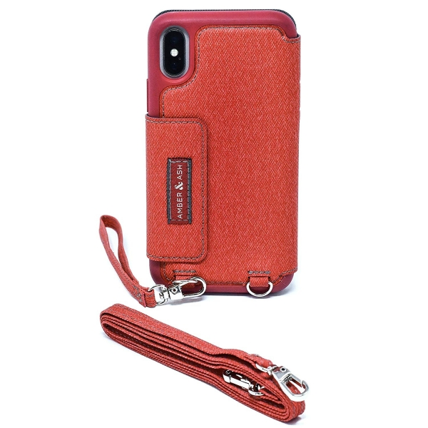 Amber And Ash iPhone XS / X Crossbody Folio Kılıf