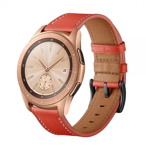 Aresh Samsung Galaxy Watch Deri Kayış (42mm)