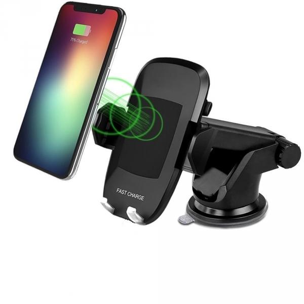 BAMAN Kablosuz Şarj Destekli Araç İçi Telefon Tutucu