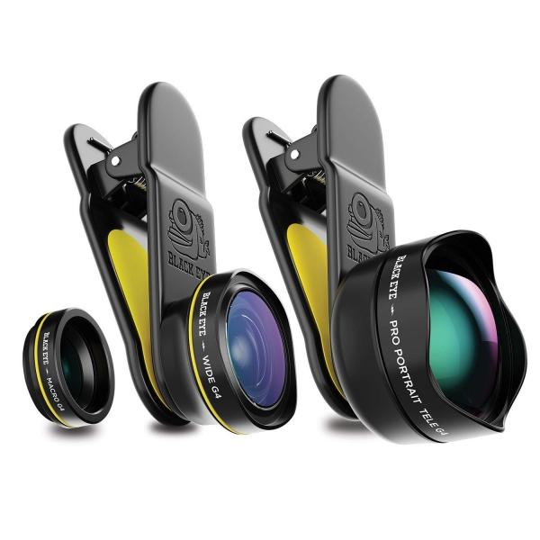 Black Eye G4 Seyahat Lens Seti