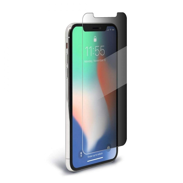 BodyGuardz iPhone X Spyglass 2 Privacy Ekran Koruyucu