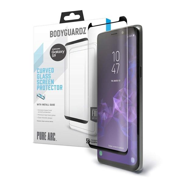 BodyGuardz Galaxy S9 Plus Pure Arc Cam Ekran Koruyucu