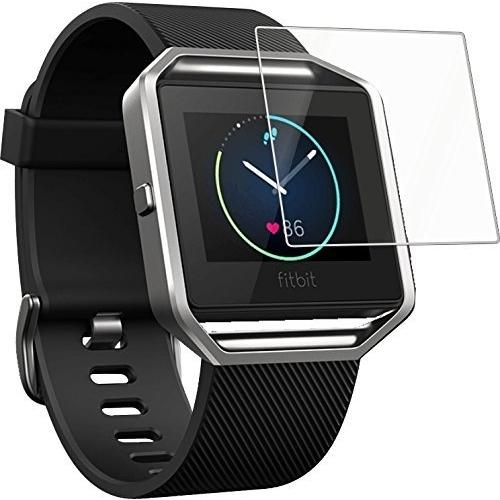 CAVN Fitbit Blaze Smart Watch Temperli Cam Ekran Koruyucu (3 Adet)