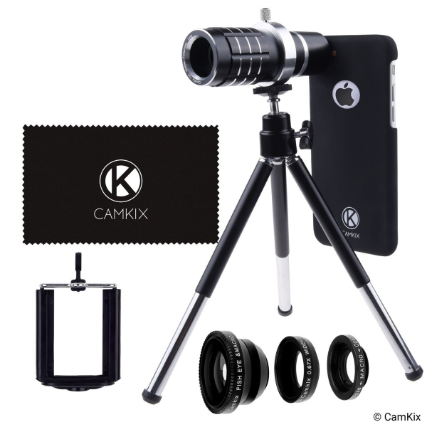 CamKix Apple iPhone 7 Kamera Lens Seti