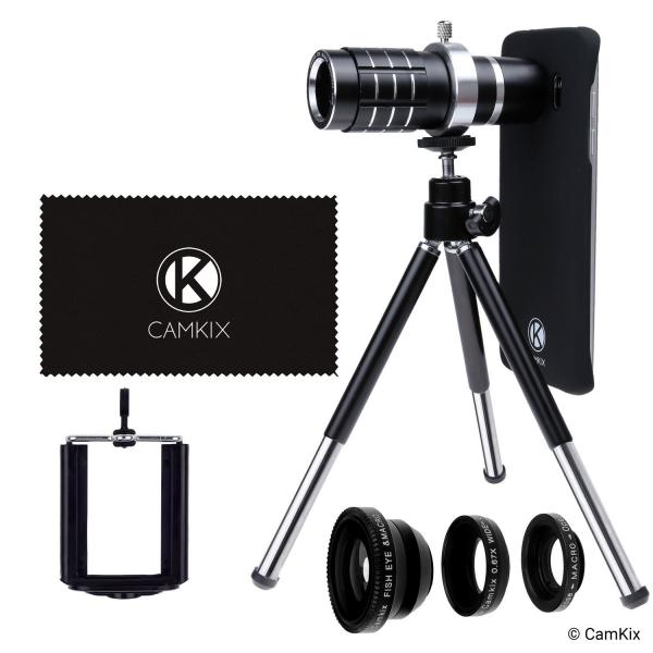 CamKix Samsung Galaxy S7/S7 Edge Kamera Lens Seti