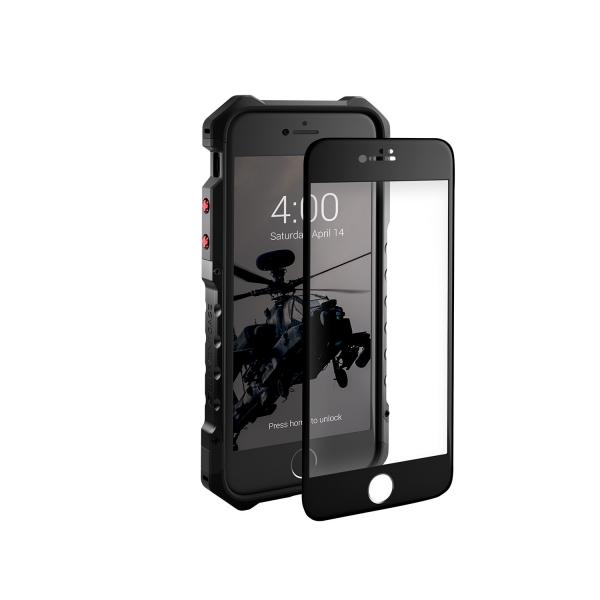 Element Case iPhone 8 Element Cam Ekran Koruyucu (Siyah)