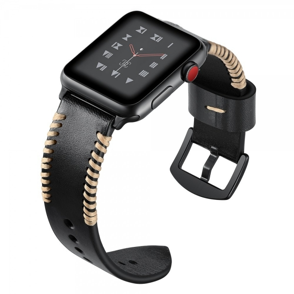 Elobeth Apple Watch Deri Kayış (44mm/42mm)