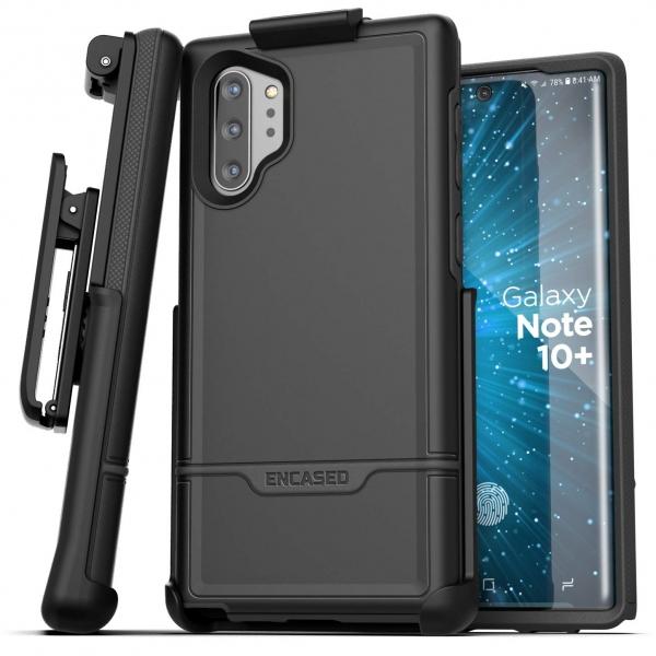 Encased Galaxy Note 10 Plus Rebel Serisi Kemer Klipsli Kılıf (MIL-STD-810G)