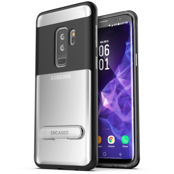Encased Galaxy S9 Plus Reveal Seri Şeffaf Kılıf/Ekran Koruyucu
