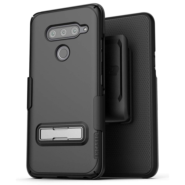Encased LG V40 ThinQ Slimline Serisi Kemer Klipsli Kılıf