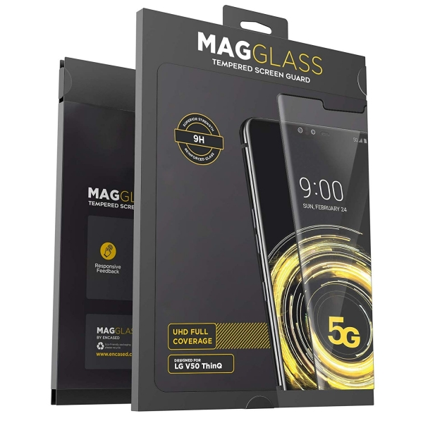 MagGlass LG V50 Temperli Cam Ekran Koruyucu