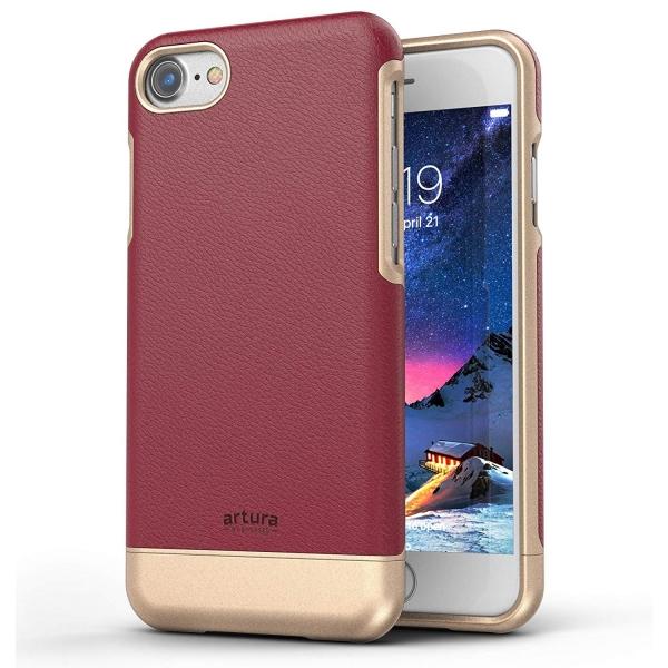Encased iPhone 8 Artura Koleksiyonu Deri Kılıf