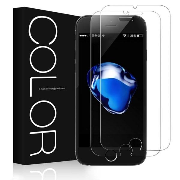 G-Color Apple iPhone 7 Plus Temperli Cam Ekran Koruyucu (2 Adet)