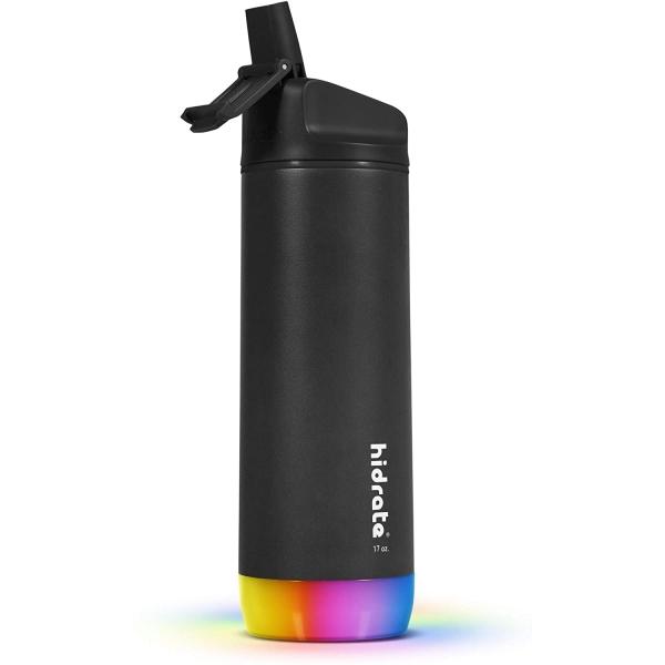 Hidrate Spark Paslanmaz Çelik Pipetli Akıllı Su Şişesi (500ml)