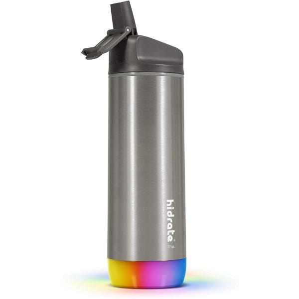 Hidrate Spark Paslanmaz Çelik Pipetli Akıllı Su Şişesi (620 ml)