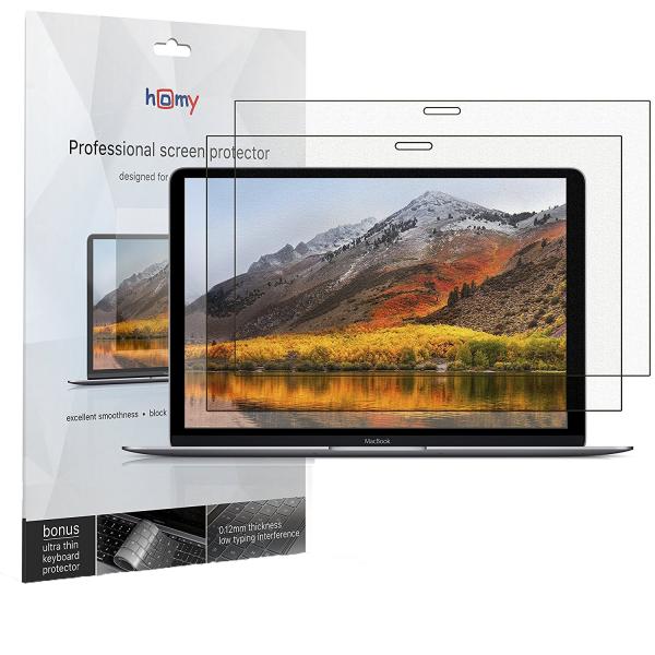 Homy International MacBook Pro 15 Touch Bar Klavye ve Ekran Koruyucu (2 Adet)