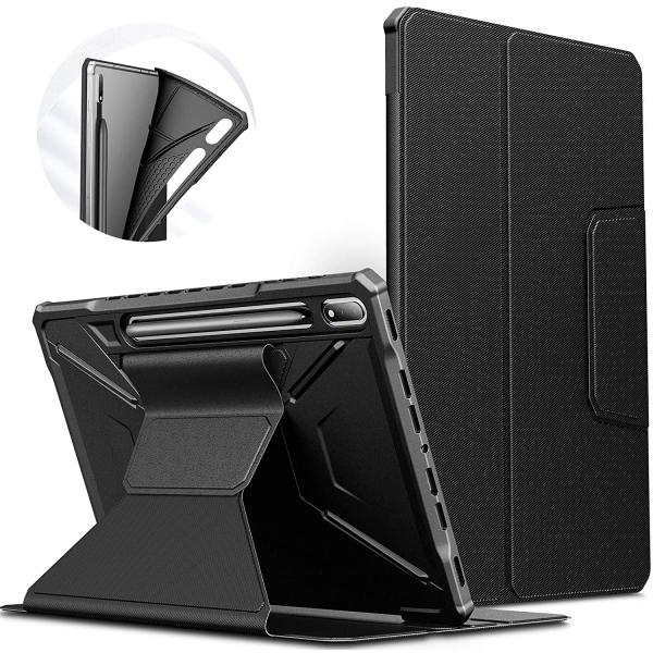Infiland Galaxy Tab S7 Plus Standlı Kılıf (12.4 inç)