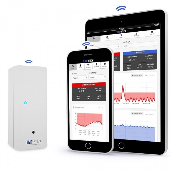 Ideal Sciences Kablosuz Sıcaklık Sensörü