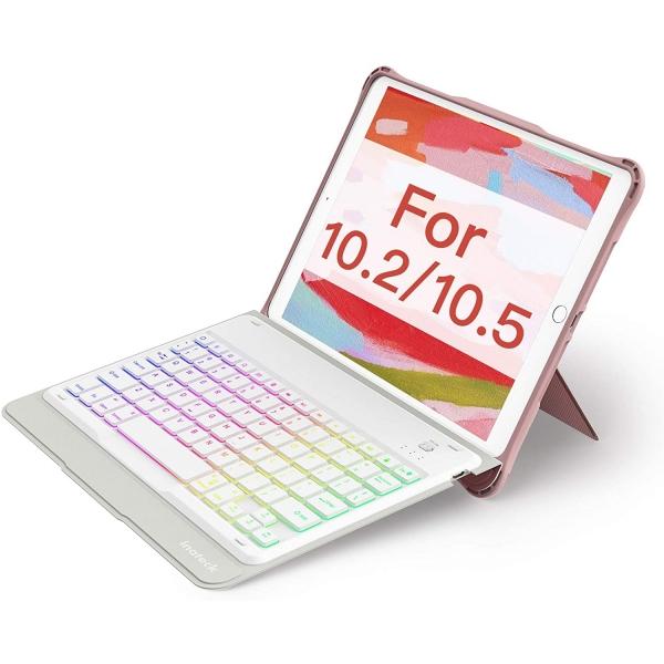 Inateck iPad Aydınlatmalı Klavyeli Kılıf (10.2 inç)