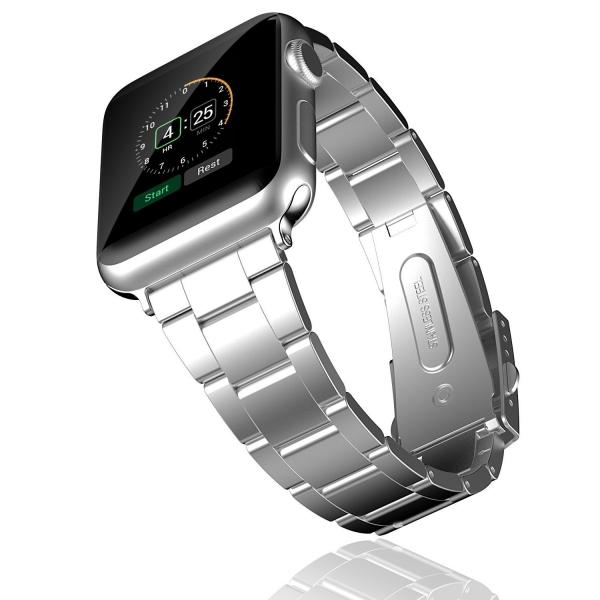 JETech Apple Watch Paslanmaz Çelik Kayış (42mm)