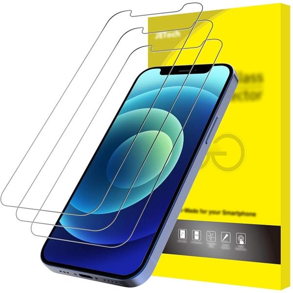 JETech iPhone 12 Mini Temperli Cam Ekran Koruyucu (3 Adet)