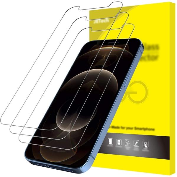 JETech iPhone 12 Pro Max Temperli Cam Ekran Koruyucu (3 Adet)