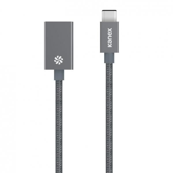 Kanex USB-C to USB 3.0 Adaptör (Gri)