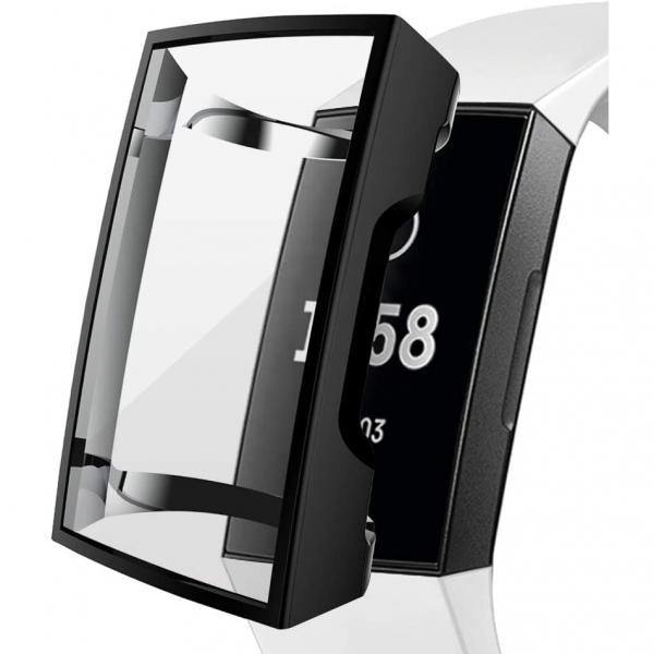 Kmasic Fitbit Charge 3 TPU Koruyucu Kılıf