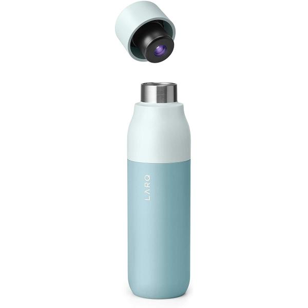 LARQ UV Dezenfektanlı Paslanmaz Çelik Su Şişesi (500ml)