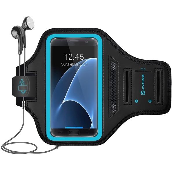 LOVPHONE Samsung Galaxy S7 Koşu Kol Bandı