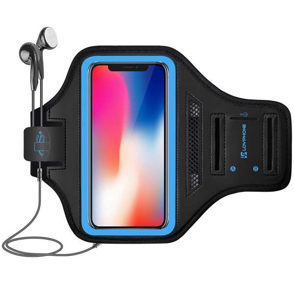 LOVPHONE iPhone X Koşu Kol Bandı
